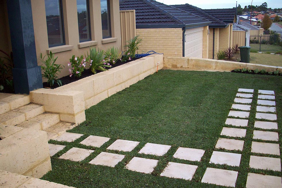 Paving, Steps and Stones
